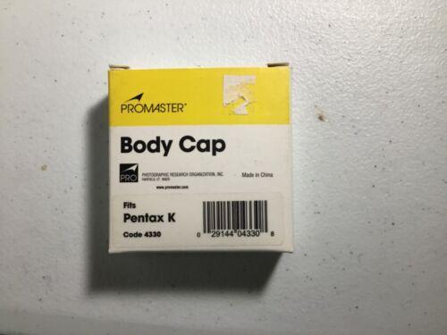 Promaster Body Cap for Pentax K