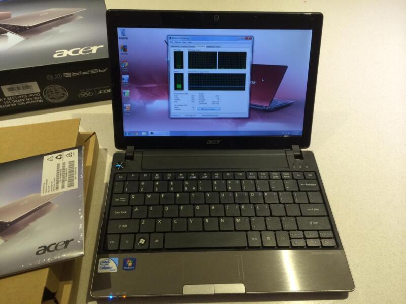 Acer Aspire One 753 Acer Aspire One 753 Dual
