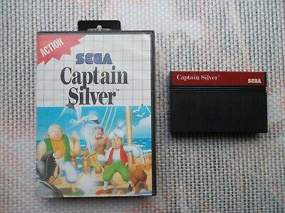 Jeu Master System / Ms Game Captain Silver + boite PAL retro SEGA original*