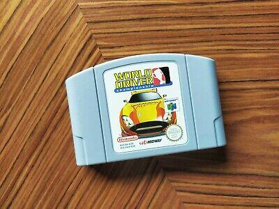 World Driver Championship Cartucho Nintendo 64 N64 PAL Envio Combinado