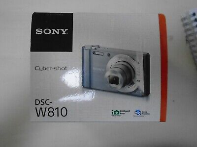 Sony Cyber-Shot DSC-W810 Camera - Black (EUX14824)