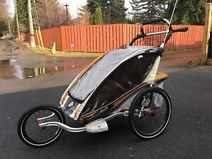 Chariot CX 2 Stroller - Loaded