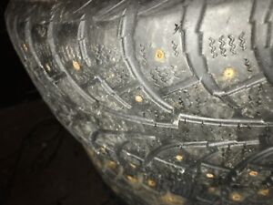 Studded winter tires 225 65 16