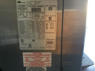 2010 Taylor 794-33 Watercooled Frozen Yogurt Machines