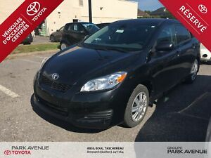2014 Toyota Matrix BAS KM*CRUISE CONTROL*BLUETOOT*80.34$/SEM