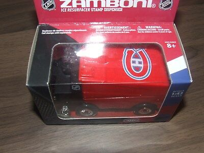 2014 ZAMBONI ICE RESURFACER STAMP DISPENSER CANADAPOST CANADIEN MONTREAL for sale  Canada