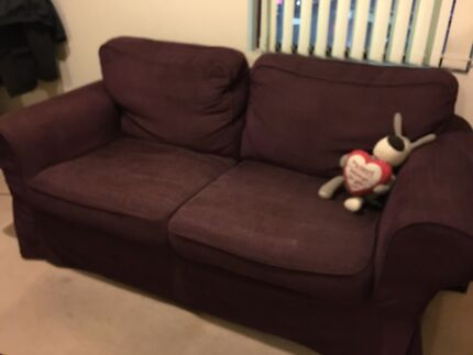 Two seater sofa in good condition! Hornsby Hornsby Area Preview