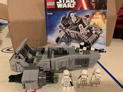 LEGO Star Wars First Order Snowspeeder (75100)