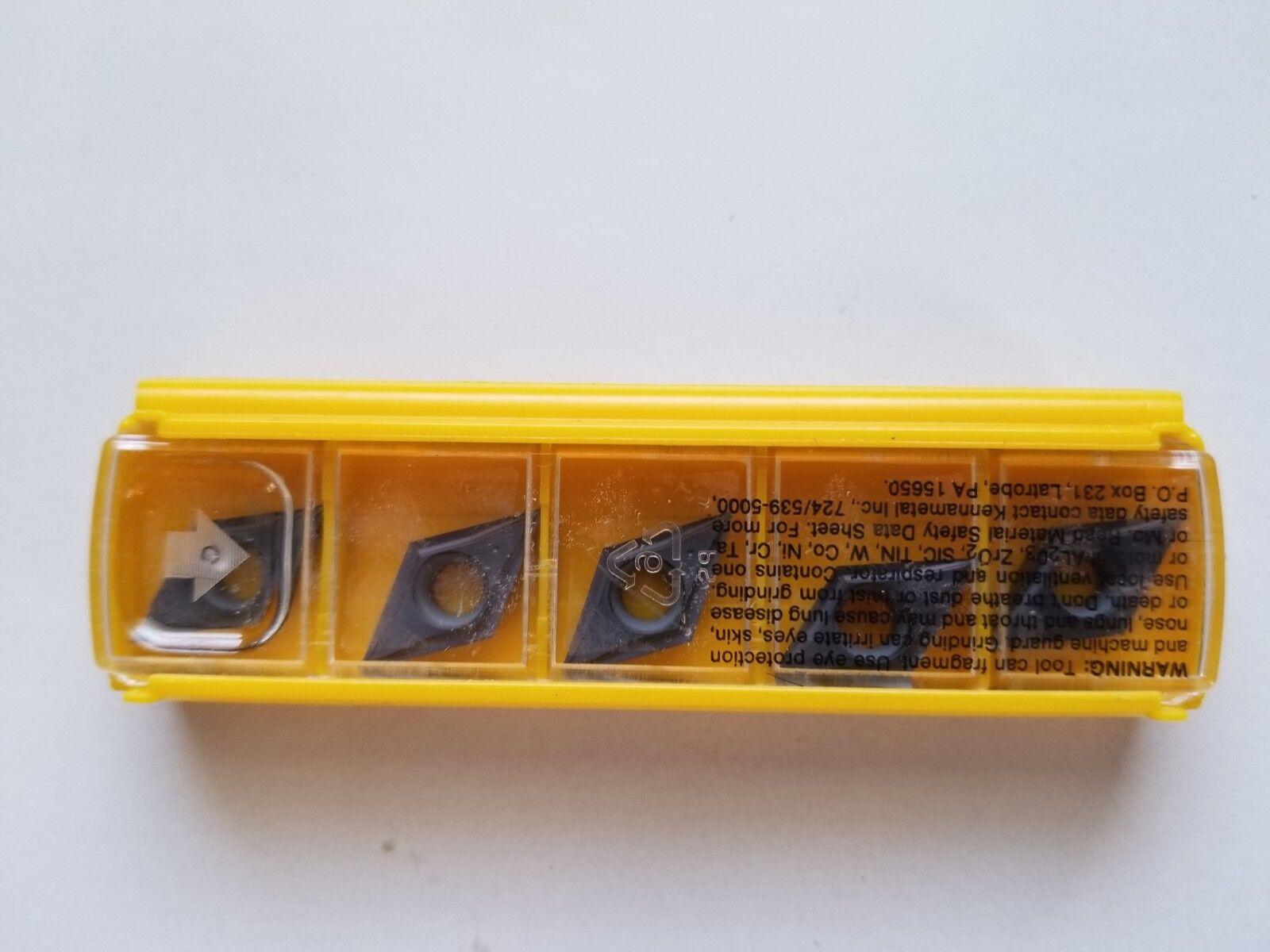 Kennametal Carbide Turning Insert SCMT 32.52LF KC5010 MF#1871002 Brand New//5 Ins