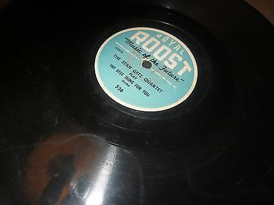 78RPM Royal Roost 526 Stan Getz, The Best Thing for You / Split Kick