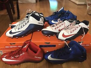 NIKE FOOTBALL CLEATS ANY SIZE ALPHA PRO 2 3/4 D glove