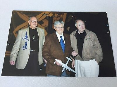 MORRIS R. JEPPSON († 2010) Pilot Enola Gay Hiroshima signed Foto 10 x 15 RARITÄT