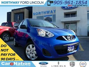 2015 Nissan Micra S | REMOTE START | LOW KM | |