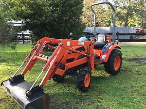 Daedong tractor CK 20 hp front loader bucket Kangaroo Valley Shoalhaven Area Preview