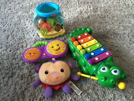 Fisher Price toys - fish bowl, bongos, xylophone $10ea East Maitland Maitland Area Preview
