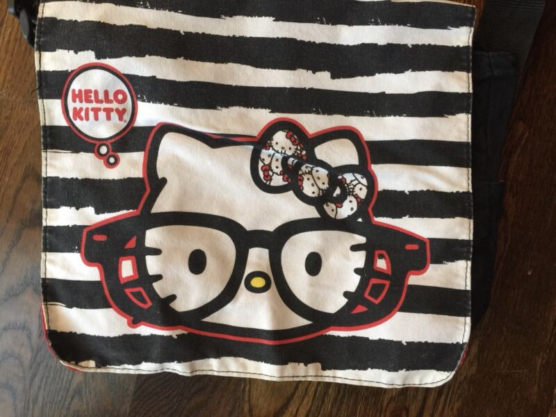 Nerd Hello Kitty Messenger Bag