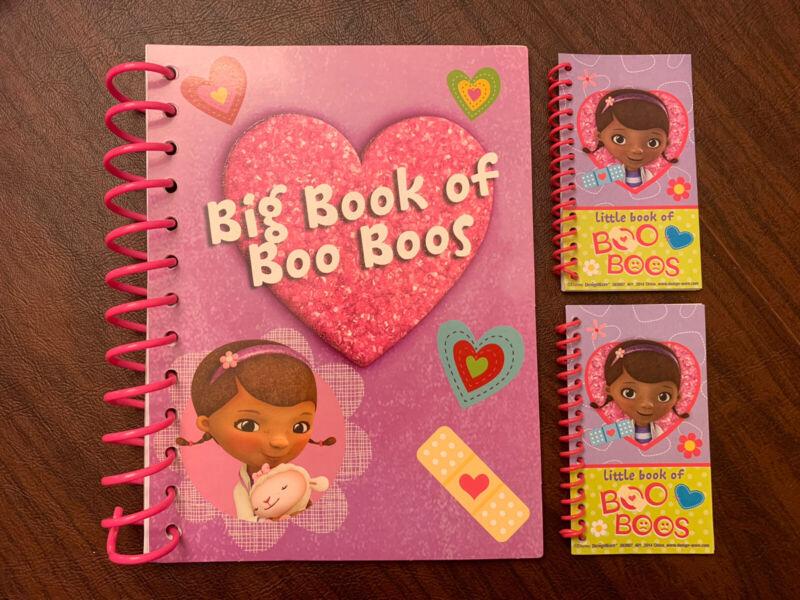 Doc McStuffins Big Book Of Boo Boos Activity Book & Mini Notebook Set