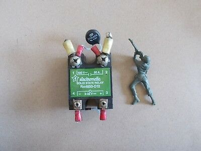 Electromatic Solid State Relay Ra4850-d12 W Cke Z510la40a Free Shipping