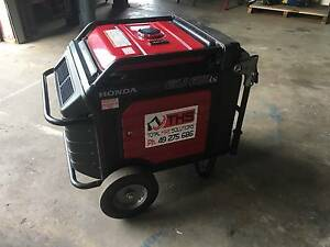 HONDA 6.5Kva Ultra Silent Generator For Hire Park Avenue Rockhampton City Preview