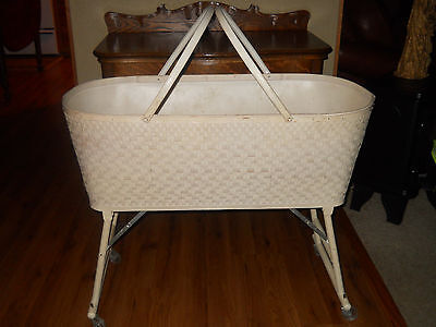 Wicker Bassinet For Sale Only 3 Left At 70