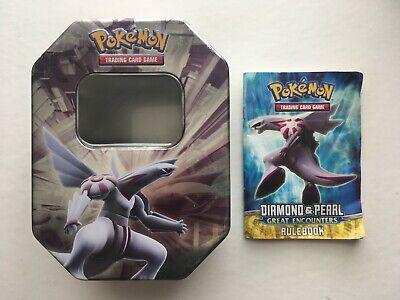 Pokemon Diamond Pearl Palkia Dialga Darkrai TCG Collectors Tin -