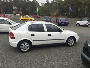 2001 Holden Astra Hatchback automatic low ks