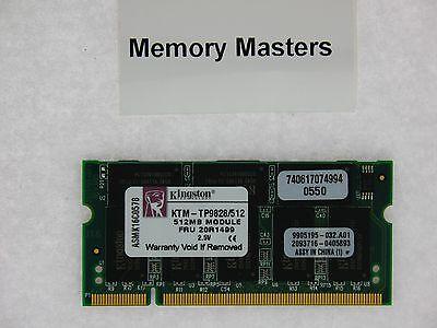 KINGSTON SODIMM 512MB PC2700 DDR 333 MHZ 200 pin LAPTOP 512 MB NOTEBOOK MEMORY 333mhz Sodimm Notebook Memory