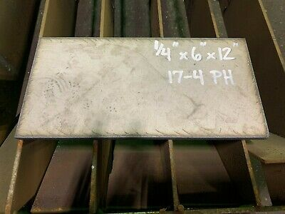Stainless Steel 17-4 Plate Bar 14 X 6 X 12