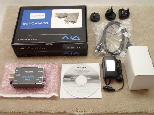 AJA HI5 HDMI Audio Video Mini Converter Nice in Box Made in USA