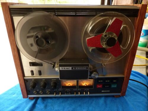 Excellent condition!!! Vintage TEAC A-2300SD STEREO TAPE RECORDER REEL-TO-REEL
