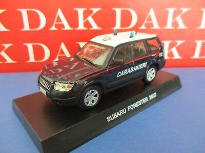 Die cast 1/43 Modellino Auto Carabinieri Subaru Forester 2007