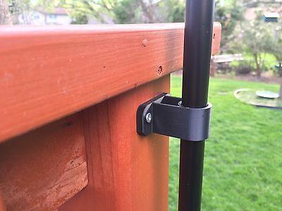 """Tiki Torch Deck Mount - 3/4"""" Pole - 1 Set"""