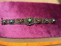 Bracciale Semirigido In Filigrana D'argento Filigree Silver Bangle Bracelet -  - ebay.it
