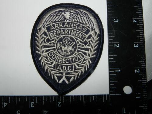 ARKANSAS CORRECTIONS-- POLICE