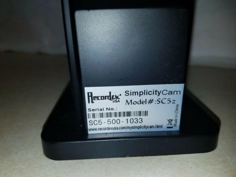 Recordex SimplicityCam SC5z AF AutoFocus Document Camera