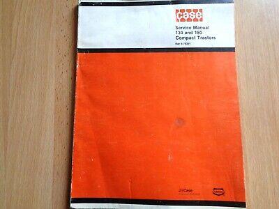 Case 130 180 Compact Tractors Factory Service Repair Manual Oem