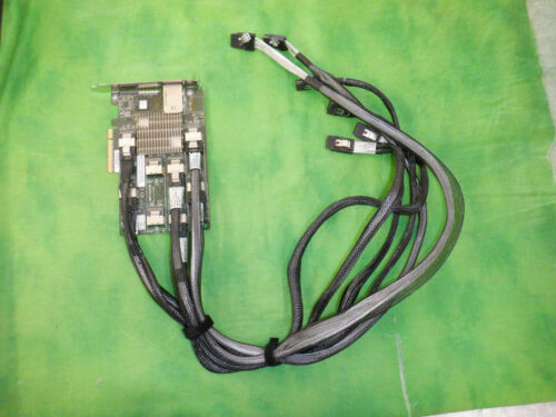 HP 468405-002 487738-001 HP 24 BAY 3GB SAS EXPANDER CARD with 6x CABLES    @2