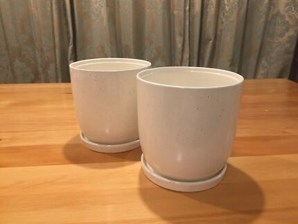 Plant Pots with Saucers