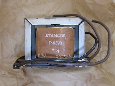 Lot Of 2- Stancor Miniaturized Control Transformers P-8393