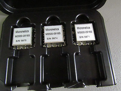 Qty50 New Micronetics Vco M3500-0916s 900mhz - 1600mhz