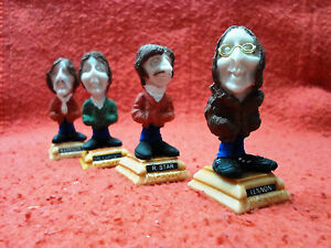 The-Beatles-Figure-Music-collectible-miniature-Lennon-McCartney-Abbey-Road