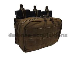 NEW-LBT-London-Bridge-Urban-Patrol-Med-Chest-Rig-Pouch-MOJO-430-Coyote-S-S-Pulls