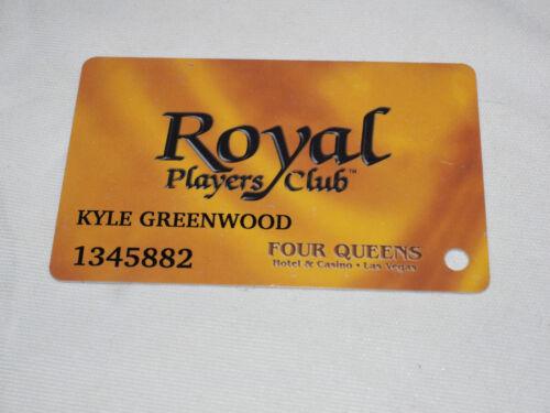 ROYAL Players Club (FOUR QUEENS) Las Vegas Casino Players Club Card