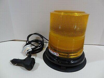 Whelen L21e Series Rotating Amber Beam Beacon Magnet Mount Light 12v Adaptor
