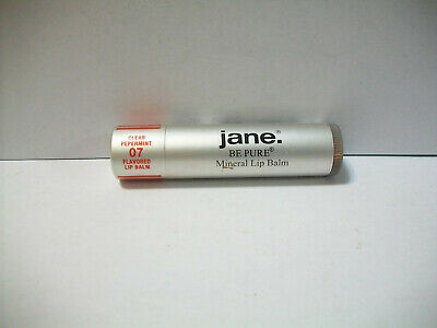 Jane Be Pure Mineral Flavored Lip Balm #07 Clear Peppermint