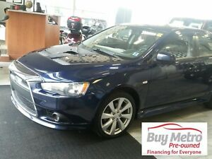 2014 Mitsubishi Lancer Ralliart AWC w Leather