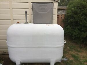 ZCL 200 Gallon Fibreglass Oil Tank