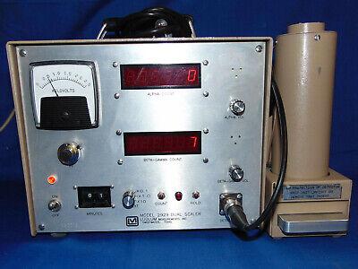 Ludlum 2929 43-10 Dual Channel Scaler Alpha Beta Scintillation Geiger Radiation