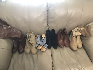 Women's boots and sandals