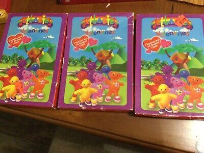 3 BOXES VALENTINE CARDS JELLABIES CARTOON AMERICAN GREETINGS 2000 NOS 2000 Greetings Cards